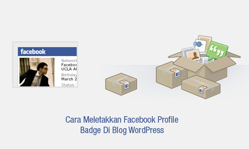 cara-letakkan-facebook-profile-badge-pada-blog-wordpress