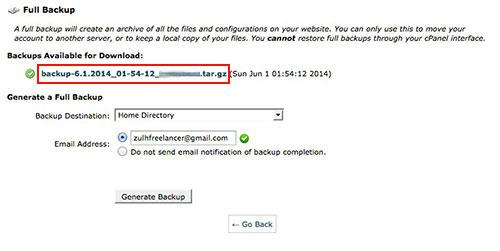 kaedah-backup-website