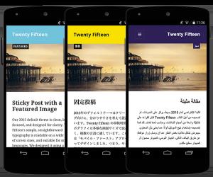 tema twenty fifteen mobile